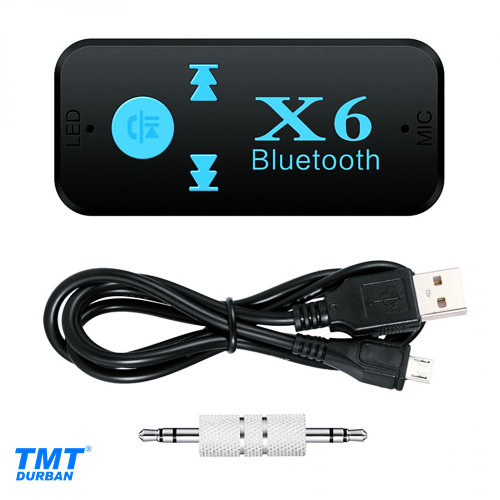 X6 Car Bluetooth Music Receiver