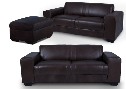 CORICRAFT Terry Leather Sofa Combo Deal