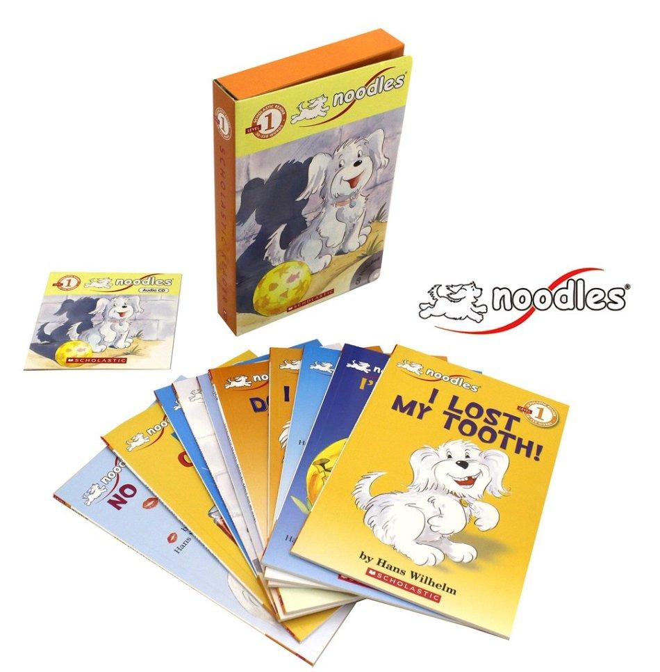 Noodles Boxed Set 10 Books & CD
