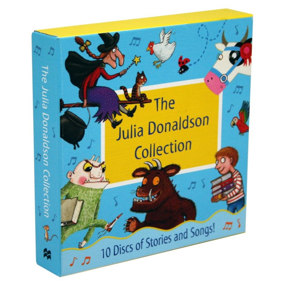 The Julia Donaldson Collection 10 Audio CDs