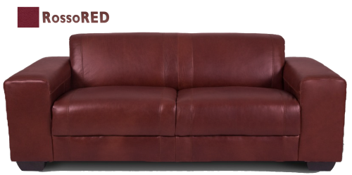 CORICRAFT - Brown Leather 2 Seater Sofa