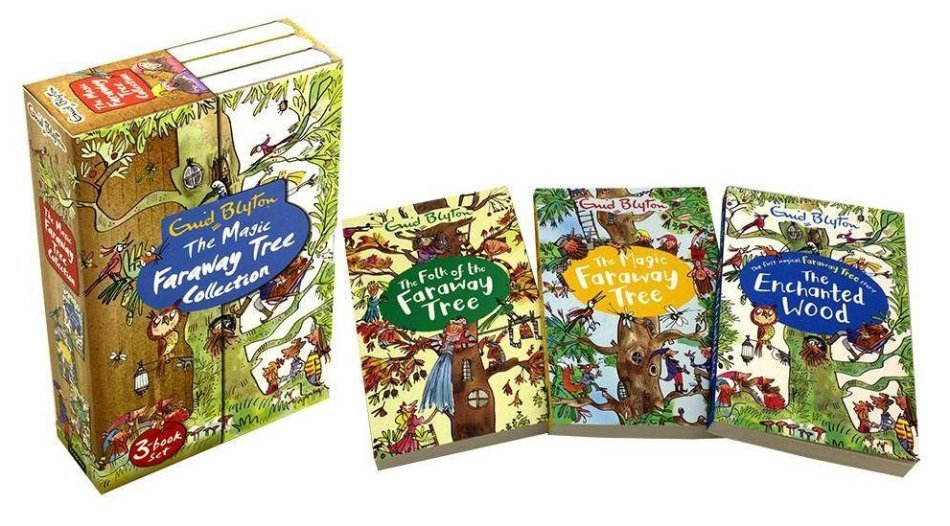 Magic Faraway Tree Collection 3 Books