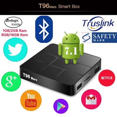 2018 T96 Mars TV Box