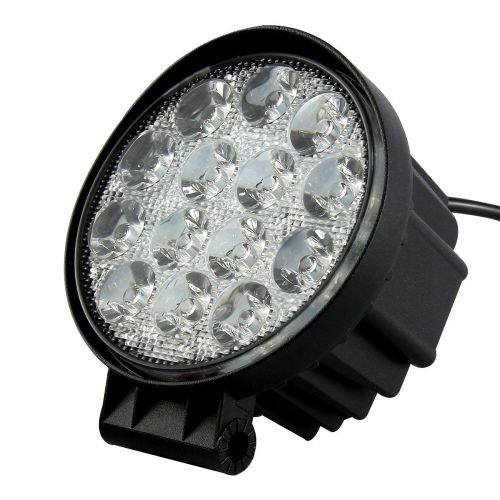 42 Watt LED Round Spot Light - Brackets Included!