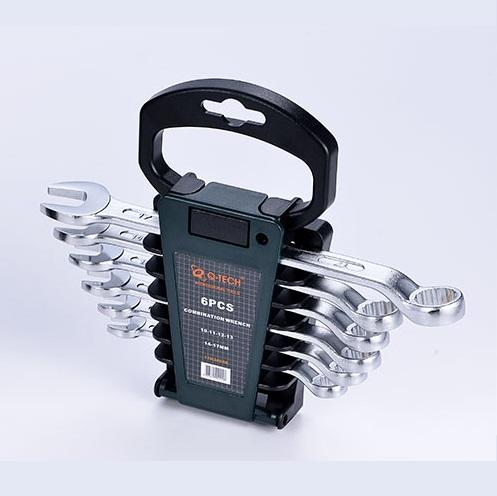 Q-Tech 6 Piece Combination Spanner Set - Free Shipping!