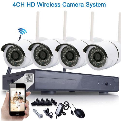 4CH HD Wireless Camera System