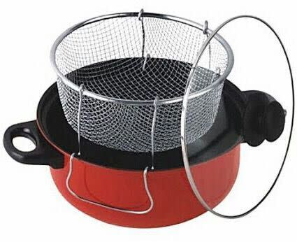 Universal Manual Deep Fryer, Steamer & Cooker