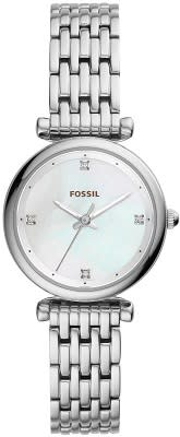 FOSSIL Mother of Pearl Dial Ladies Watch - Free Shipping