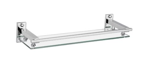 Square Design Glass Shelf 50cm