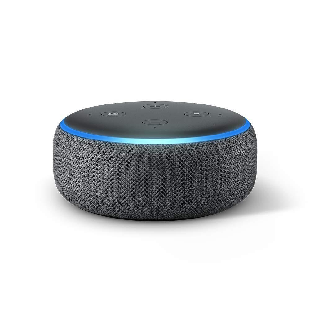 **FREE SHIPPING IN STOCK**Amazon Echo Dot (3rd Gen) - Smart speaker with Alexa - Charcoal