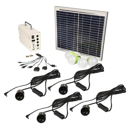Solar Light Kit 4 Lights