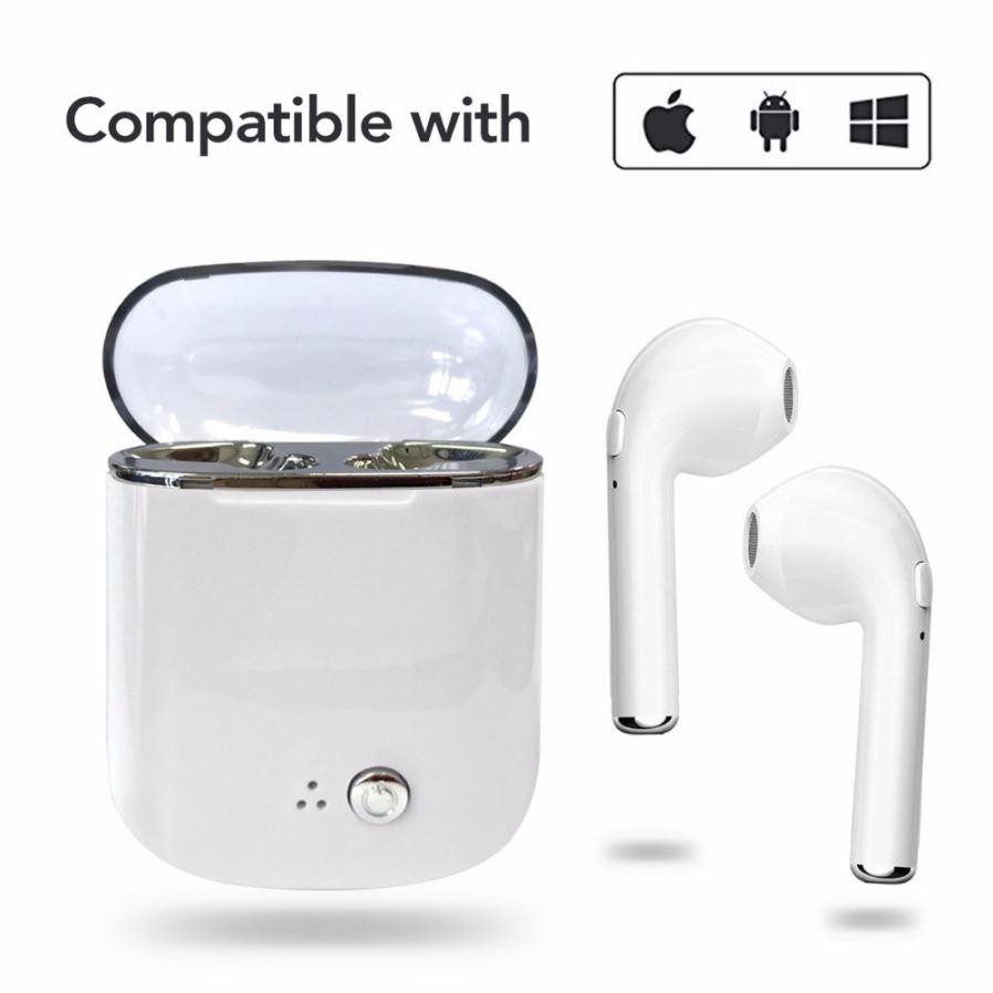 Bluetooth Earphones New TWS i7S True Wireless Earphone Earbud Portable Headphone
