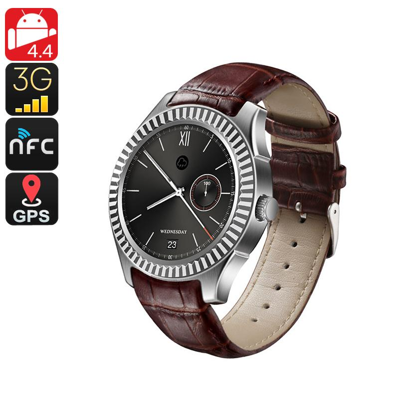 No.1 D7 Bluetooth Watch Phone (Silver)