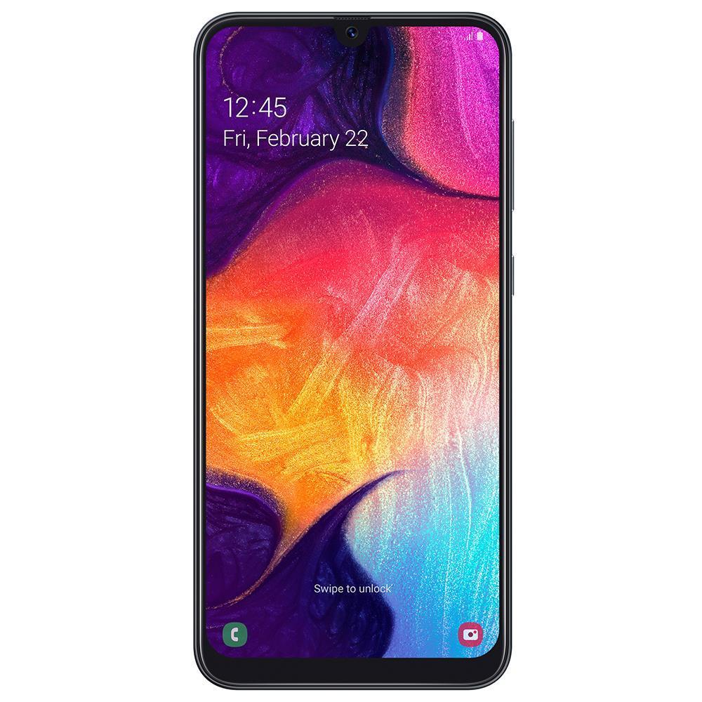Samsung Galaxy A50 (128GB, Dual Sim, Black, Special Import)