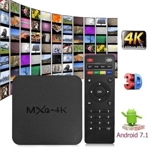 MXQ 4k Ultra HD 2G / 8G TV Box - Best Price & Quality - Grab It !!!