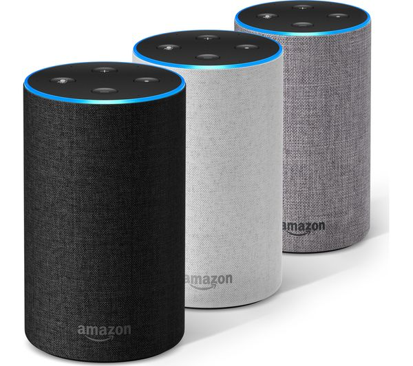 Amazon Echo (Gen 2) - Smart Home Assistant and Bluetooth/Wi-Fi Speaker (Local Stock - Free delivery)