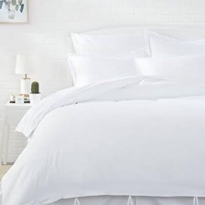 Bedding/Duvet Cover Set/ 5 piece White,Black, Grey, Red, Pink /Queen