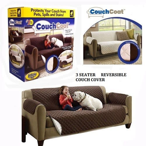 3 SEATER REVERSIBLE COUCH COVER