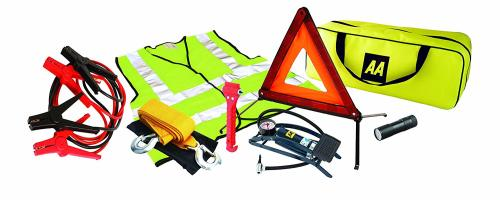 AA 5595 Breakdown & Safety Kit with Footpump