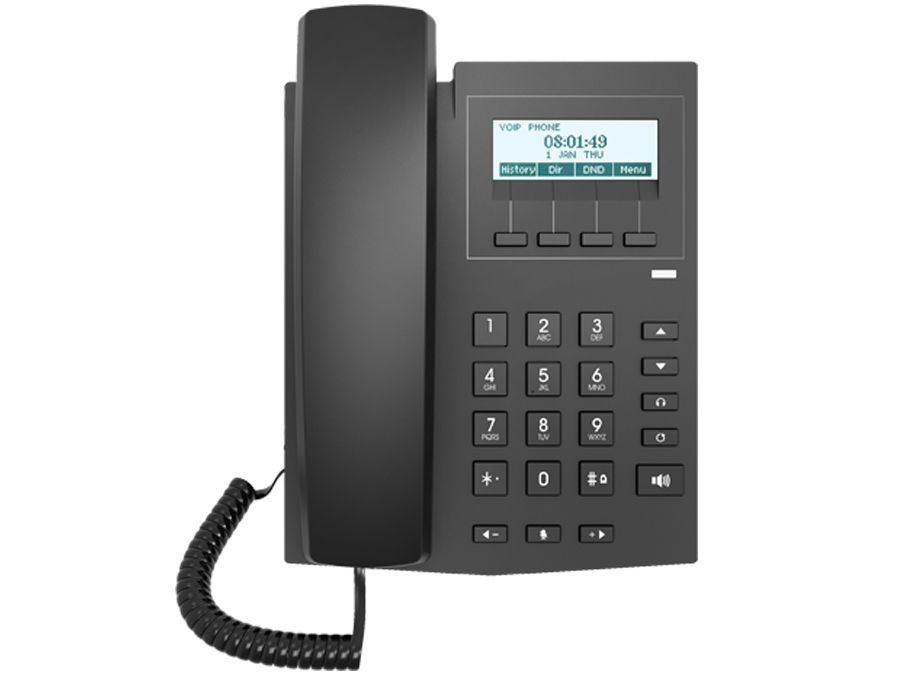 Fanvil FAN-X1P 2SIP Line Entry Level VoIP Phone - Fanvil