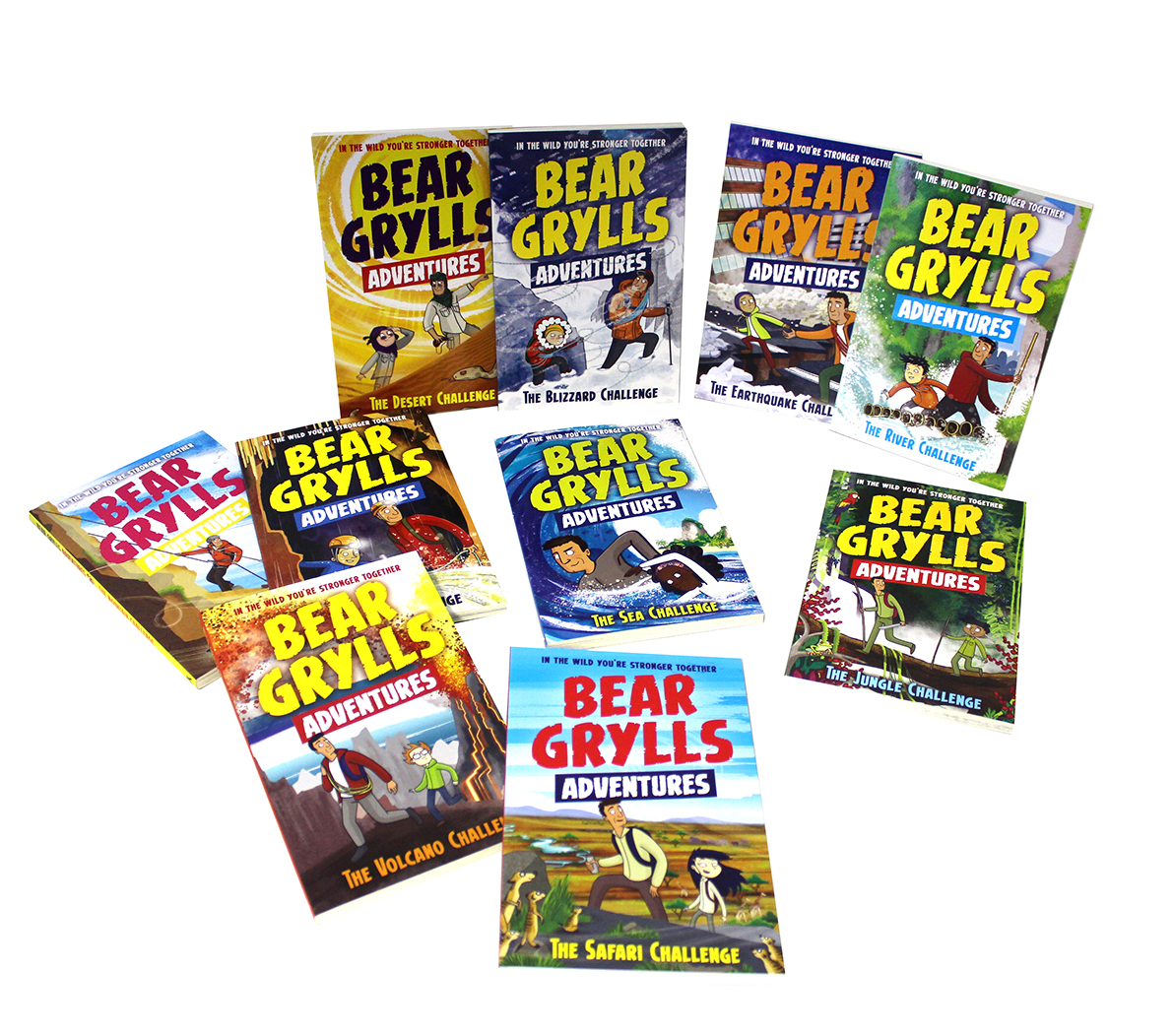 Bear Grylls 10 Book Pack