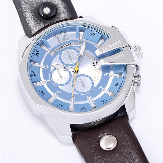 Men's Blue Curren Watch