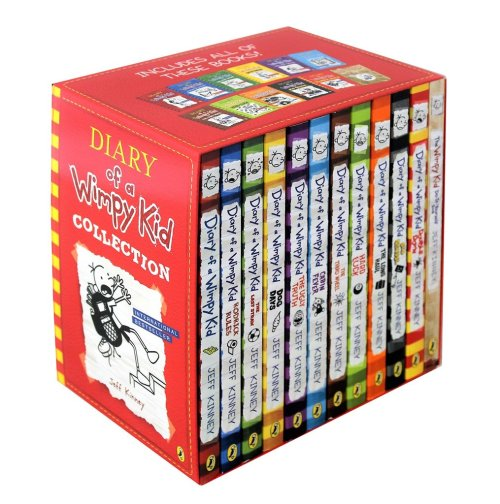 Diary of a Wimpy Kid Collection: 12 Book Slipcase