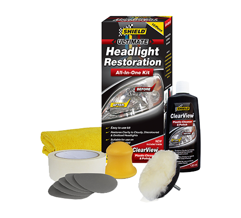 Shield Headlight Restoration Kit