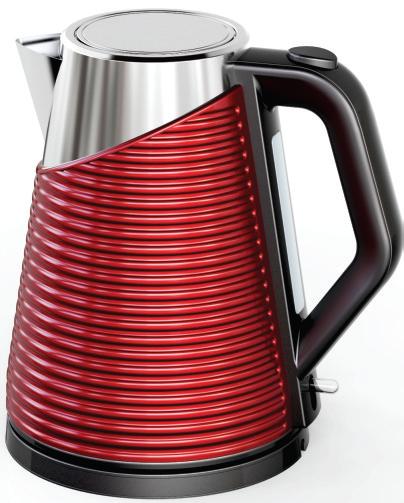 SUNBEAM Ultimum Stainless Steel Kettle - Red