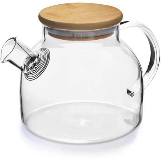 Eetrite Glass Teapot With Bamboo Lid 900ml