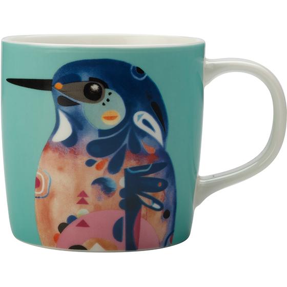 Maxwell & Williams Pete Cromer Mug Azure Kingfisher