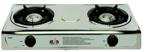 ALVA - Stainless Steel Gas Stove - 2 Burner