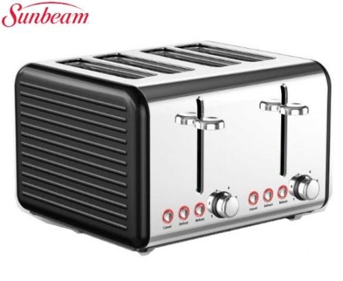 SUNBEAM Ultimum - 4 Slice Toaster - Black