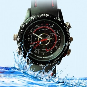 4GB HD Waterproof Silicone Spy Watch with Digital Video Recorder for just R399