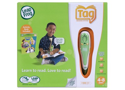 Enhance your child's reading with the LeapFrog® Tag Reading System