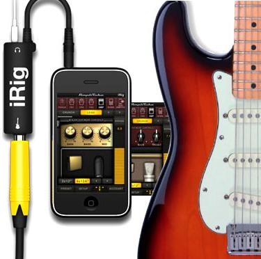 Your Guitar on your iPhone, get the AmpliTube iRig for the iPod/ iPhone & iPad now for only R219!
