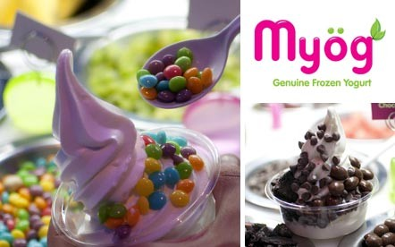 Any Medium Tub of Frozen Yogurt with 2 Yummy Toppings of your choice for only R17 at Myög Genuine Frozen Yogurt, Kloof Street, Gardens.