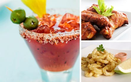 Treat yourself and 2 friends to any 3 Cocktails and a Tons of Fun Mixed Platter to share for only R111 at Café Manhattan, De Waterkant. The Mixed Platter consists of Calamari, Chicken Wings and Nachos.