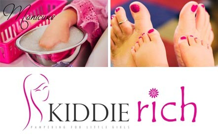The perfect pamper pack for Mommy and Me! A mum and daughter pamper session for only R199 at Kiddie Rich Spa, Tygervalley Centre.