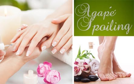 The perfect touch to any outfit! A French Manicure and a French Pedicure for only R120 at Agape Spoiling, Durbanville.