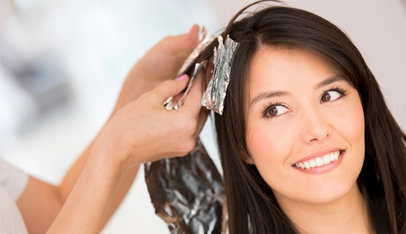 Oayssis Hair! Highlight Foils, Cut, Blow + Hydration Treatment OR a Brazilian Blow Dry.