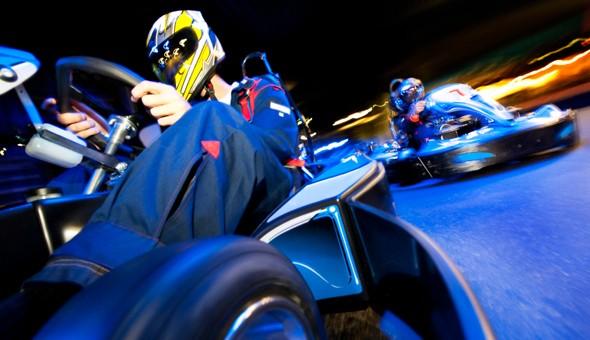 10 thrill seeking Laps at Century Karting or Kenilworth Karting