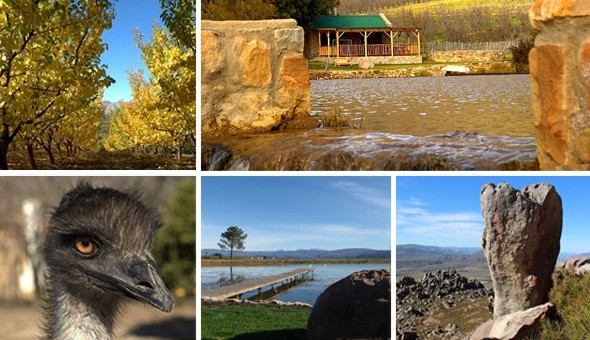 Escape to the magical Langdam-in-Koo in Montagu for a 2 Night Stay in a choice of Cottages!