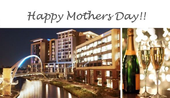 Luxury Mother's Day Gift! A 1 Night Getaway for 2 People, including a Bottle of Champagne at The Residences at Crystal Towers!