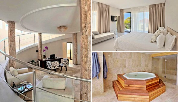 Luxurious Getaway for 2 People including Breakfast at the Grand Kloof Boutique Hotel in Fresnaye.