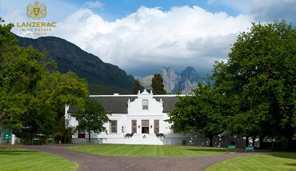 Wine Barrel Tasting & a Cellar Tour for up to 4 People at Lanzerac Wine Estate, Stellenbosch.