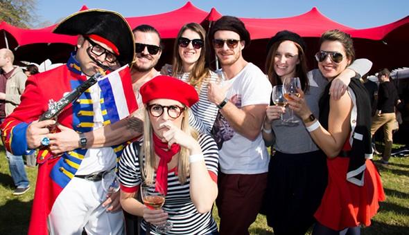 The Franschhoek Bastille Festival 2015: Passes to The Bastille Festival Food & Wine Hall or Food & Wine Marquee. Includes: Tasting Glasses & Tasting Coupons!