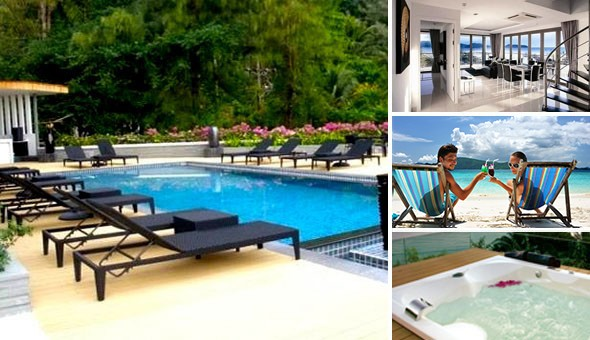 Escape to the 4-star Absolute Nakalay Boutique Resort in Phuket for a 7 Night Stay for 2 Adults, including Breakfast & Dinner daily at only R925 (Value: R22 065)!