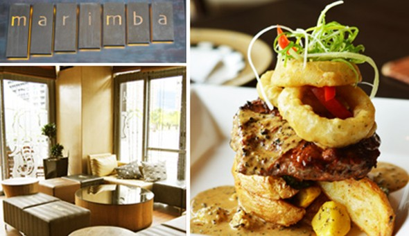 500g BBQ Ribs or 300g Sirloin Steaks with a Creamy Pepper or Mushroom Sauce for up 4 People at Marimba Restaurant, CTICC!