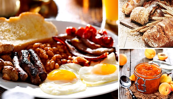 Savour the unique flavours of the Winelands with Traditional Farm-style Breakfasts for 2 People at Twaalf Restaurant, Stellenbosch!